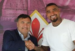 Kevin-Prince Boateng resmen Fiorentinada