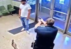 Polis merkezine girip Beni vurun dedi