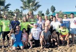 Gümüldür Plajı'nda Masterler rüzgârı
