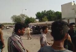 Yemende askeri geçit töreninde patlama