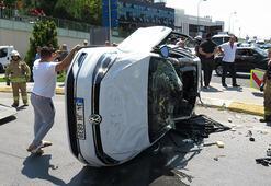 Çekmeköy-Şile yolunda trafik kazası; 3 yaralı