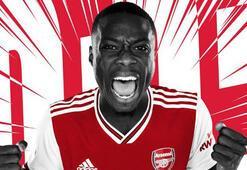 Nicolas Pepe resmen Arsenalde