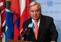 Guterresten güvenli bölge konusunda ABD ve Türkiyeye anlaşma çağrısı