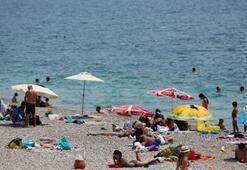 Antalyayı nem bulutları kapladı