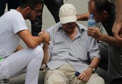 Yaşlı adama çarptı, kartvizitini bırakıp gitti