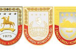 Üç orduya yeni  komutanlar geliyor