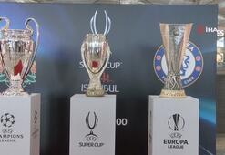 Süper Kupa, İstanbul Havalimanı'na getirildi