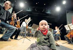 Bebekler için konser