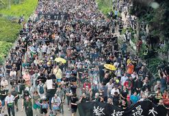 Hong Kong'da  grev çağrısı