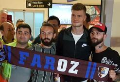 Alexander Sörloth resmen Trabzonsporda