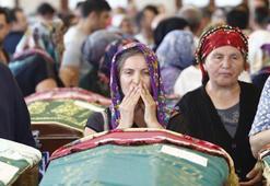 Otobüs yangınında ölen Fatma Kızılgöz, Ankarada toprağa verildi