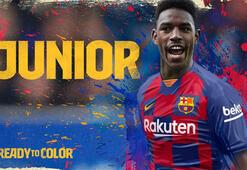 Barcelona, Junior Firpoyu transfer etti