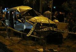 Aydında trafik kazası 1 ölü 2 yaralı