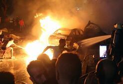 Son dakika | Mısırda korkunç olay 4 araç yandı, 17 ölü, 32 yaralı