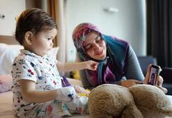 2 yaşındaki Gözdeye 59 yaşındaki anneanneden böbrek