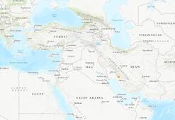 Son dakika: İranda 5.2 büyüklüğünde deprem