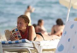 Alanyaya sıcaklar turistleri bunalttı