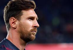 Barcelonada Lionel Messi depremi