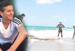 Denize giren 17 yaşındaki genç kayboldu