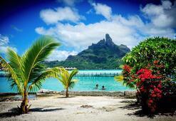 Uzak cennet Tahiti