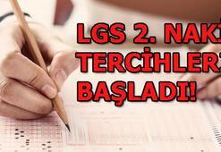 LGS 2. nakil başvuruları başladı E-okul Lise boş kontenjanları