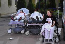 Amonyaktan etkilenen 25 işçi hastaneye kaldırıldı