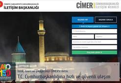 CİMERden kamu spotu... 'Millet ile devlet arasındaki iletişim köprüsü'