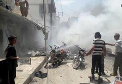 Suriyenin kuzeyinde iki patlama