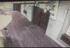 Kağıthanede caminin kundaklanması kamerada