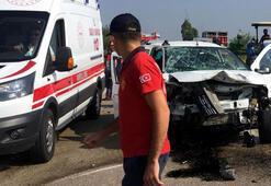 Osmaniyede kaza: 1 ölü, 3 yaralı