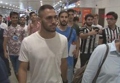 Beşiktaşın yeni transferi Victor Ruiz İstanbulda