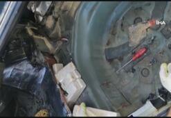 Erzincanda 42,5 kilogram eroin ele geçirildi