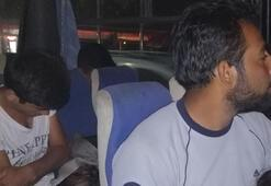 Çanakkale'de 16 düzensiz göçmen yakalandı