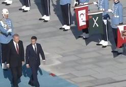 Cumhurbaşkanı Erdoğan, Zelenskyi resmi törenle karşıladı