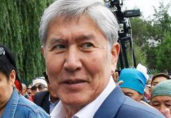 Eski Kırgızistan Cumhurbaşkanı Atambayevin evine polis operasyonu