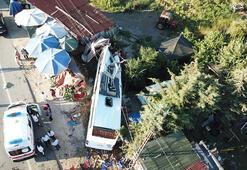 Son dakika... İstanbulda otobüs kazası Ölü ve yaralılar var