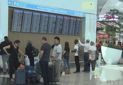 İstanbul Havalimanında bayram hareketliliği başladı