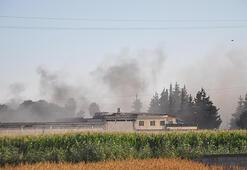 Reyhanlıda askeri mühimmat deposunda patlama