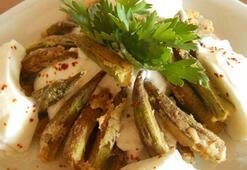 Bamya kızartması tarifi