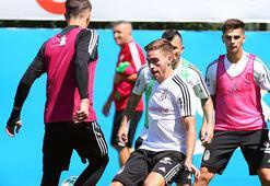 Beşiktaşta 4 futbolcu takımdan ayrı çalıştı