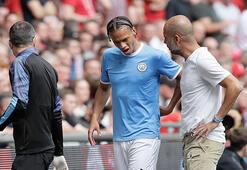 Manchester Cityde sakatlık şoku: Sane 6 ay yok
