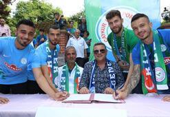 Çaykur Rizespor, yeni transferleri tanıttı