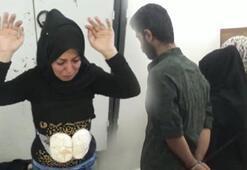 Suriyede bombalı eylem hazırlığında 5 terörist yakalandı