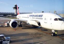 THY'nin rüya uçağı  Washington'a indi