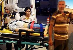 Baba dehşeti Kazada kurtulan kızını döverek hastanelik etti