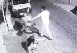 3 kız çocuğundan birini kolundan tutup zorla... Görünce balkondan atladı