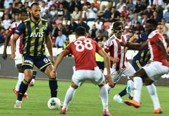 Sivasspor - Fenerbahçe: 2-1