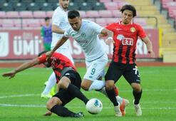 Eskişehirspor - Konyaspor: 1-1