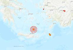 Son dakika... Girit açıklarında deprem