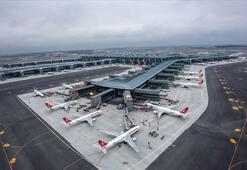 İstanbul Havalimanından saatte 53,5 sefer yapıldı